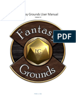 Fantasy Grounds User Manual
