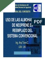 Almohadillas de Neoprene-Final - Ana Torre