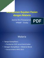 3. Rujukan Pasien Malaria