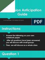 persuasion anticipation guide