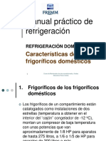 25 - Refrigeración Doméstica - Características Frigoríficos Domésticos