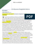 The China plan — On Myanmar-Bangladesh deal on Rohingya - The Hindu.pdf