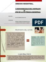 Nulidad vs Buena Fe Registral. Grupo 4