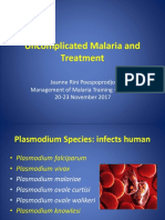 1_Uncomplicated Malaria and Treatment