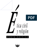 Cortina Adela - Etica Civil Y Religion