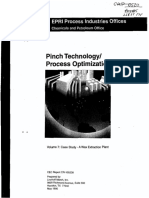 Pinch Technology, Process Optimization. Case Study - a Wax Extraction Plant.pdf