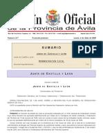 Plan General de Ordenación Urbana de Ávila
