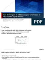 Pcb West 2016 New Techniques Address Layout Challenges High Speed Routing Cp