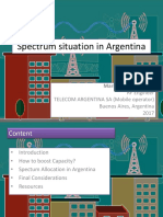 ASM - Project - Spectrum Situation in Argentina