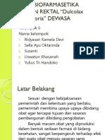 Kel 6 Study Biofar Sed Rektal.pptx