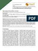 Cutting Stock Problem