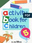 Activiti Book for Children - JPR504 - No.5