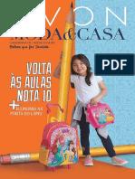 Folheto Avon Moda&Casa - 04/2018