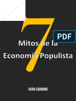 7 Mitos Economia Populista