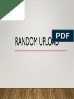 Random Upload