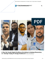 A Slow But Steady Digital Healthcare Revolution Is Gaining Momentum_ 10+ Startups Trying To Change Healthcare In Bangladesh