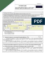 Proiect Formular 086 - Split TVA