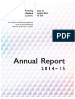 SPA Annual Report 2014-15