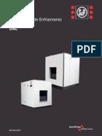 Manejadoras de Enfriamiento Evaporativo Turbina de Alabes Curvas Adelantadas Horizontal DAL 9, Marca SOLER&PALAU