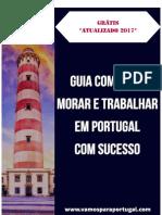 eBook Morar e Trabalhar Em Portugal Com Sucesso 2017