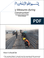 Safety Measures During Construction