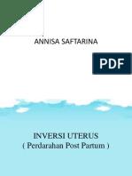 Inversi Uterus Dan Ppp