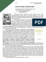 Biografía Barros Grez