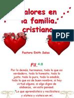 Valores en La Familia Cristiana