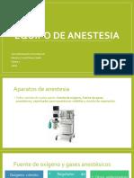 Equipo de Anestesia