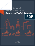 connected vehicle security