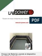 DV Power Battery Test Equipment Es