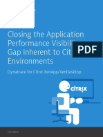 Citrix Performance Monitoring Brief