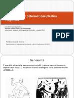11 - Deformazione Plastica - Forgiatura