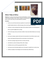 ethnic tribes of africa rubric