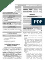 LEY Nº 30641 - Ley Que Fomenta La Exportación de Servicios y El Turismo