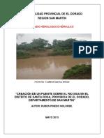 Estudio Hidrologia e Hidraulica Pte Santa Rosa A4