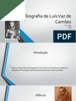 Biografia Camões
