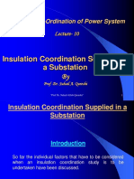 ( Lec-10) (Insulation Co-Ordinaion 25.05.09