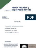 Estimación Recursos y Reservas Depósito Yodo - A.beluzan - Abelco Consulting