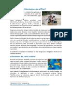 Desastres Hidrologicos en El Peru