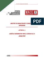 Diseño de Herramientas Para La Consultoría (Mace)