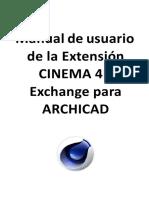 22 Manual de usuario de la Extensión CINEMA 4D
