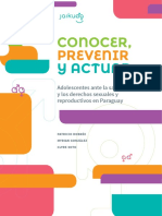 Conocer Prevenir y Actuar - Patricio Dobree - Myrian Gonzalez - Clyde Soto - Ano 2015 - Portalguarani