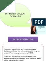 Definisi Dan Etio Ensepalitis, Ppt, Gbme