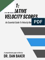 VBT Guide Part 1 Normative Velocity Scores