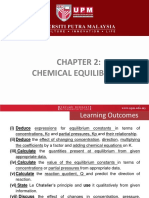 Slide Chapter 2 Chemical Equlibrium ASC0305 MJH