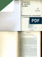 Mayorga - Derechos del consumidor y economía de mercado (1991)