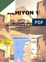 Region 1 - Rehiyon ng Ilocos
