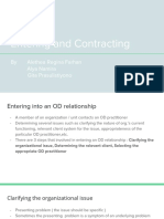 Entering and Contracting OD Consultant