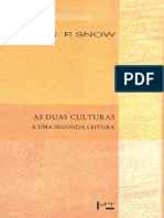 As Duas Culturas e Uma Segunda Leitura